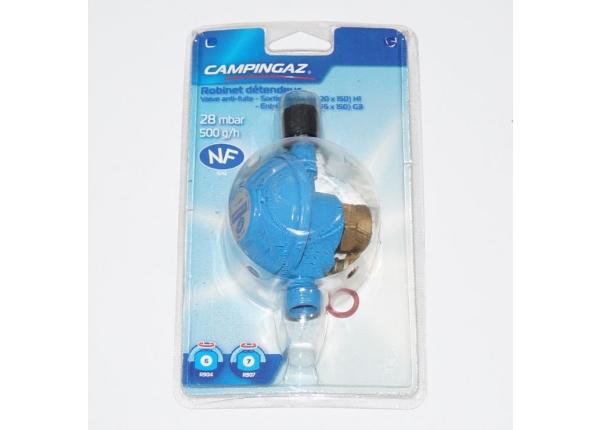 Gaasiregulaator Campingazi R907 ja R904 gaasiballoonile