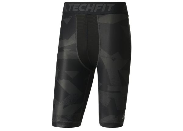 Miesten kompressioshortsit Adidas Techfit Chill Print Tights M CD3891