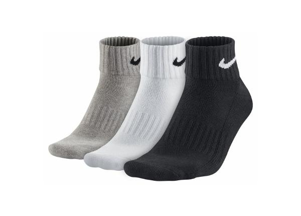 Sokid täiskasvanutele Nike 3 komplektis Value Cotton Quarter SX4926-901