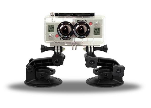 Kuvausjärjestelmä GoPro kameraan 3D HERO: