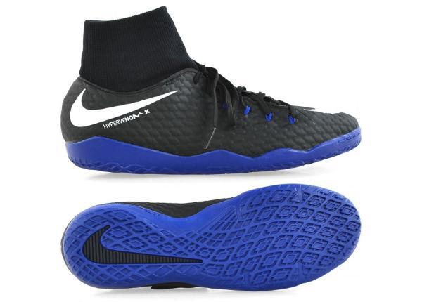 Meeste saali jalgpallijalatsid Nike HYPERVENOM X PHELON 3 DF IC M 917768-002
