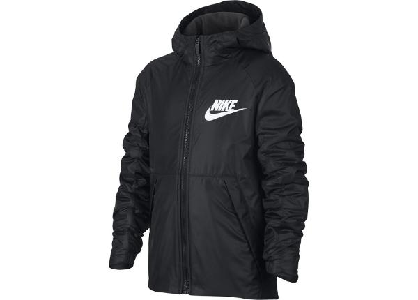 Lasten talvitakki Nike Sportswear Lined Fleece Junior 856195-010