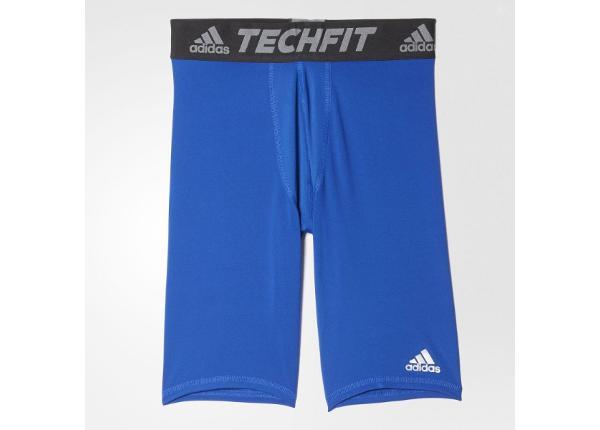 Lühikesed kompressioon püksid meestele adidas Techfit Base Short Tights M AJ5041