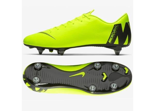 Meeste muru jalgpallijalatsid Nike Mercurial Vapor 12 Academy SG Pro M AH7376-701