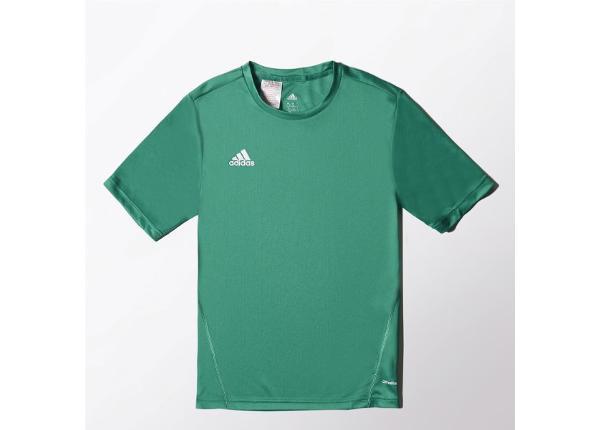 Laste jalgpallisärk adidas Core Training Jersey Jr S22402
