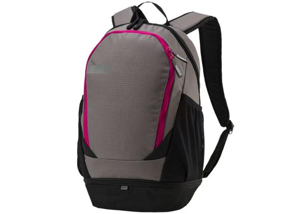Selkäreppu Puma Vibe Backpack Steel Gray 075491 04