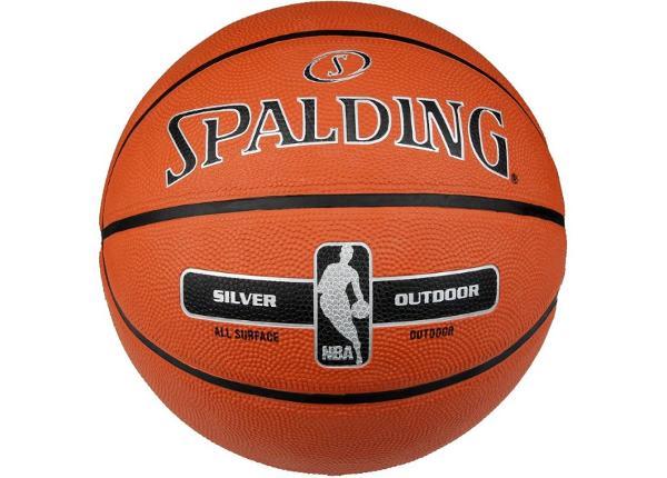 Korvpall Spalding NBA Silver