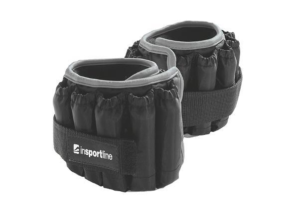 Säädettävät jalkapainot inSPORTline Ankler X 2x2.25 kg