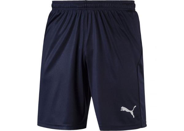 Meeste lühikesed jalgpalli püksid Puma Liga Shorts Core M 703436 06