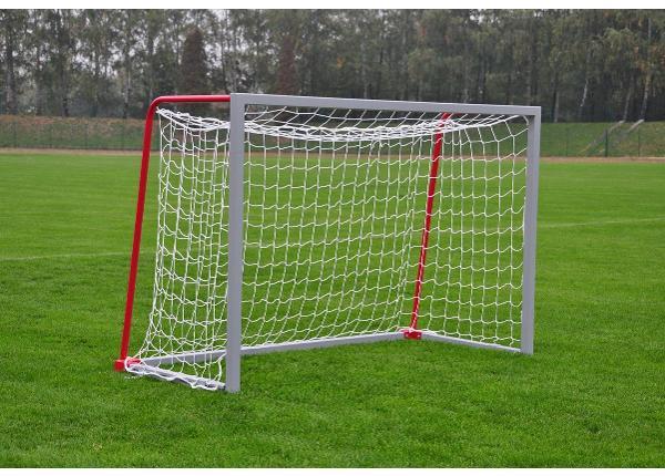 Mini jalgpallivärav alumiiniumist 160 x 220 cm teisaldatav