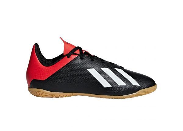 Laste saali jalgpallijalatsid adidas X 18.4 IN Jr B9409