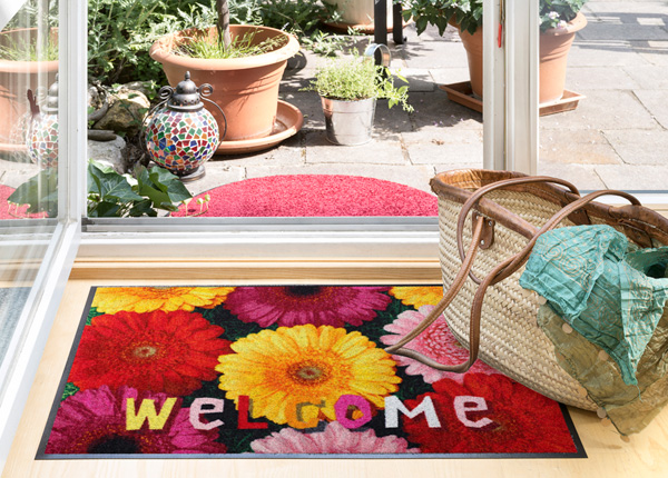 Ковер Welcome Gerbera 50x75 см