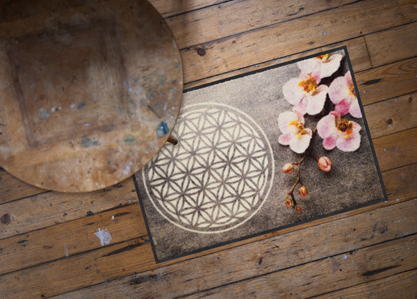Matto Flower of Life 50x75 cm A5-186892