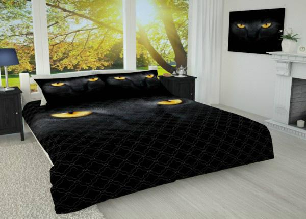 Päiväpeitto Musta kissa 215x240 cm AÄ-186915
