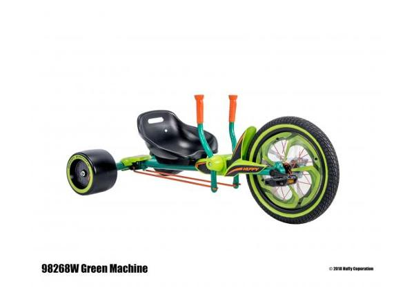 Kolmerattaline Green Machine 16 tolli