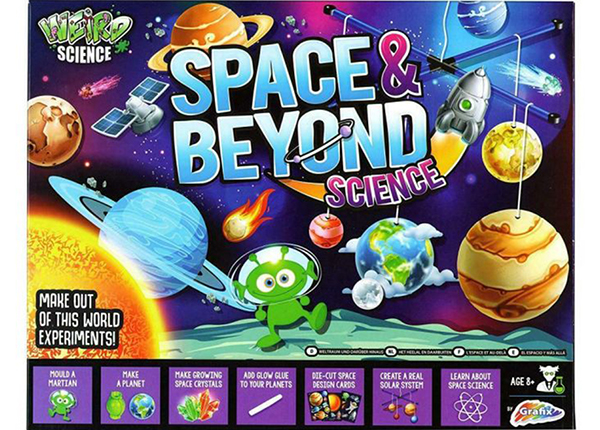 Tiedepaketti Space n Beyond UP-187375