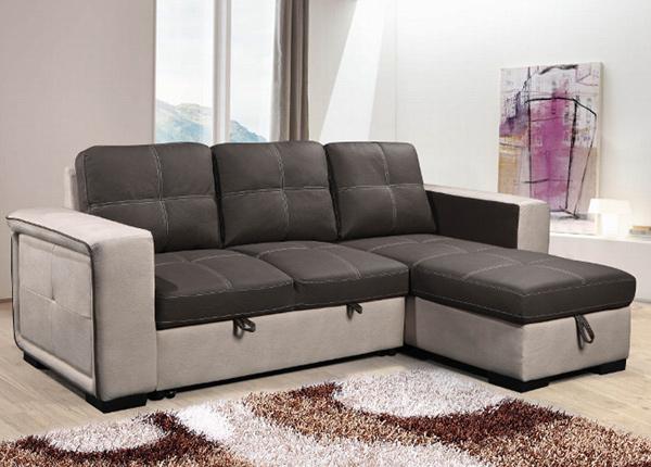 Угловой диван-кровать с ящиком Doran