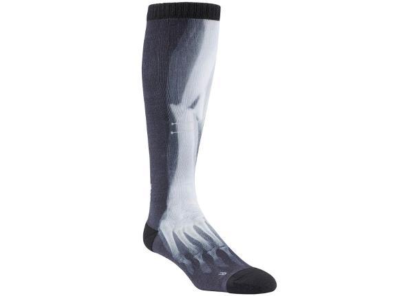 Miesten urheilusukat Reebok CrossFit Printed Knee High Socks M AJ5789
