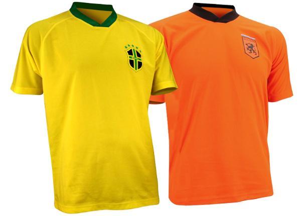 Футбольная рубашка Brasiilia/Holland