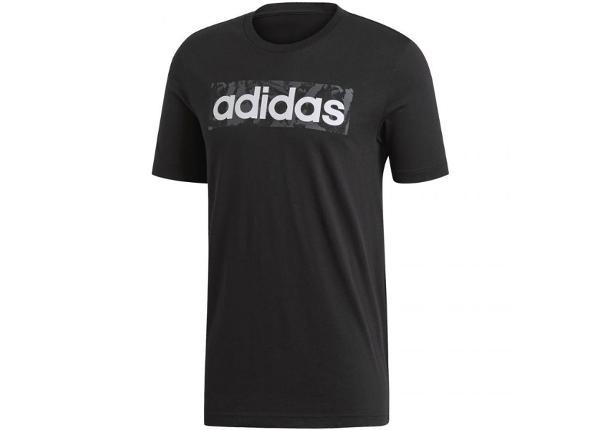 Miesten t-paita Adidas Linear AOP Box Tee M DV3041