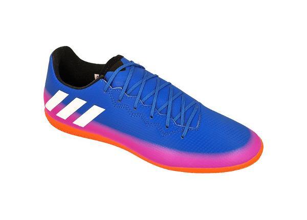 Saali jalgpallijalatsid meestele adidas Messi 16.3 IN M BA9018