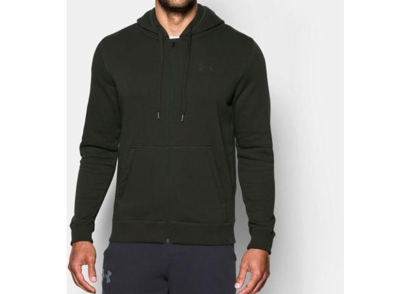 Miesten huppari Under Armour Rival Rival Fitted Full Zip Hoodie M 1302290-357
