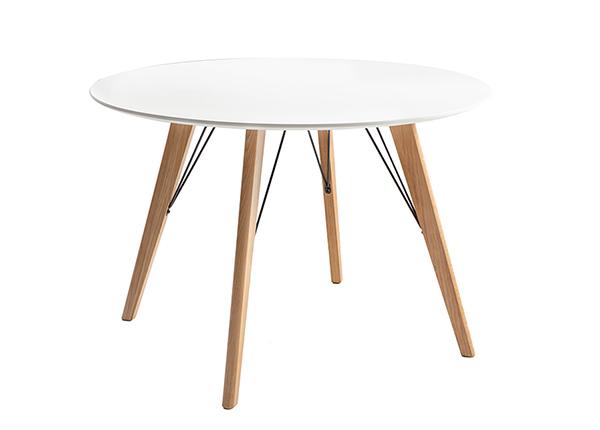 Söögilaud Helena White Ø 100 cm