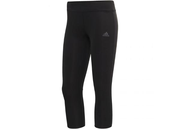 Treeningretuusid naistele 3/4 pikkus adidas Own the run Tight 3/4 W CF6222