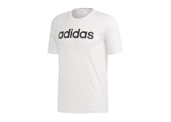 Meeste T-särk treeninguks adidas D2M Climacool Logo Tee M DU1234