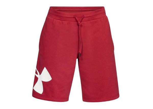 Meeste lühikesed püksid Under Armour Rival Fleece Logo Short M 1329747-651