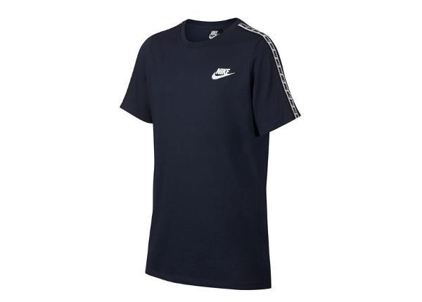 Lasten treenipaita Nike NWS Repeat SS Tee JR AV8390-451