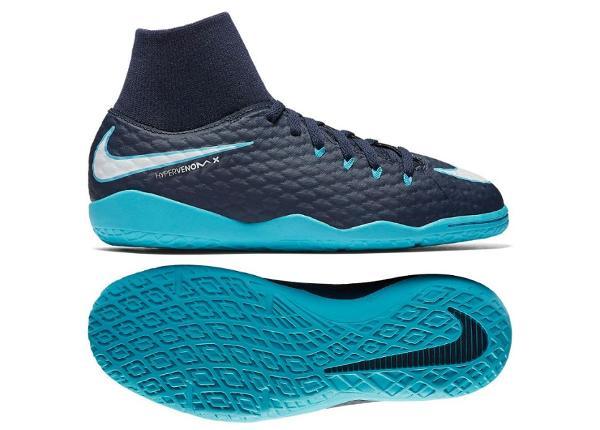 89c7fc7c739 Laste saali jalgpallijalatsid Nike HypervenomX Phelon III DF IC Jr  917774-414 ...