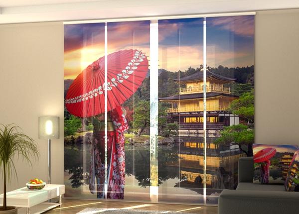 Puolipimentävä paneeliverho Woman in Kimono 240x240 cm