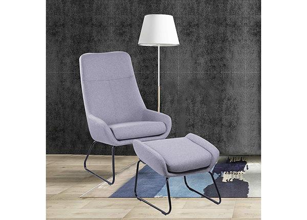 Кресло с пуфом AY-190083