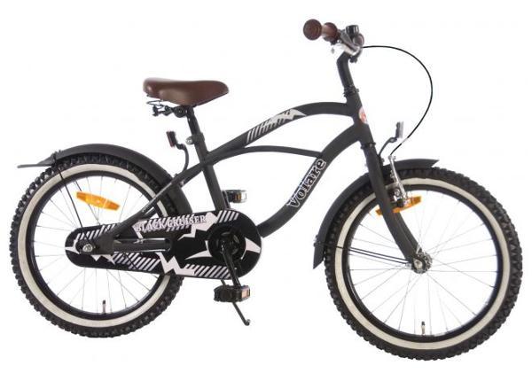 Black Cruiser 18 tolli poiste jalgratas Volare