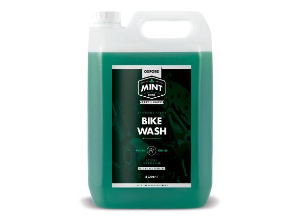 Mootorratta puhastusvahend Mint Bike Wash 5L