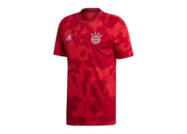 Мужская футболка adidas Bayern Munchen Pre-Match M DX9676