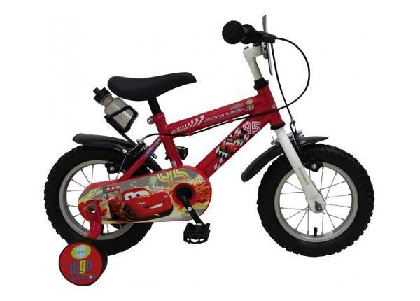 Poiste jalgratas 12 tolli käsipidurittega Disney cars
