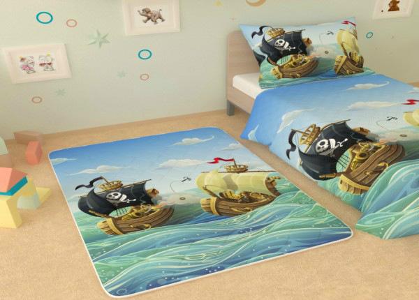 Детский ковер Морская битва 145x190 см