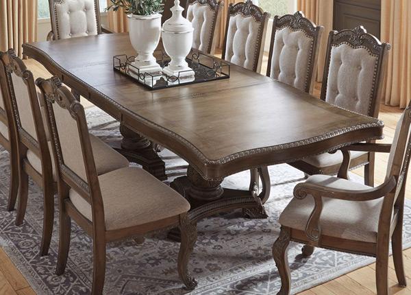 Jatkettava ruokapöytä 111x180/225/270 cm