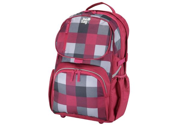 Koulureppu Be Bag Cub Checked BB-191260