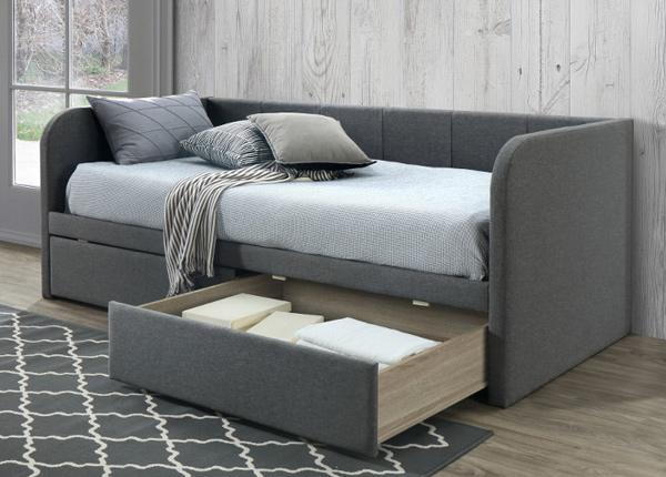Pesukastiga voodi Zita 90x200 cm