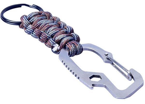 Karabiin/ võtmehoidja 1 m nööriga Munkees