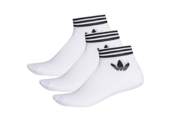 Sokid meestele adidas Originals Trefoil Ankle Socks 3 pakk M EE1152