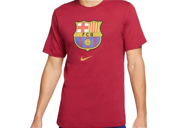 Miesten t-paita Nike FC Barcelona Evergreen Crest 2 M CD3115-620