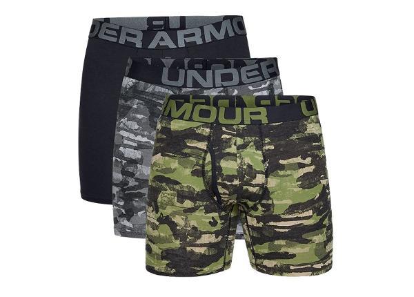 Aluspesu meestele Under Armour CG 6' 3 pakk Boxers M 1327427-233