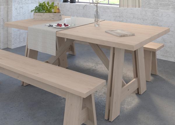 Ruokapöytä Vanille 184x100 cm MA-192679