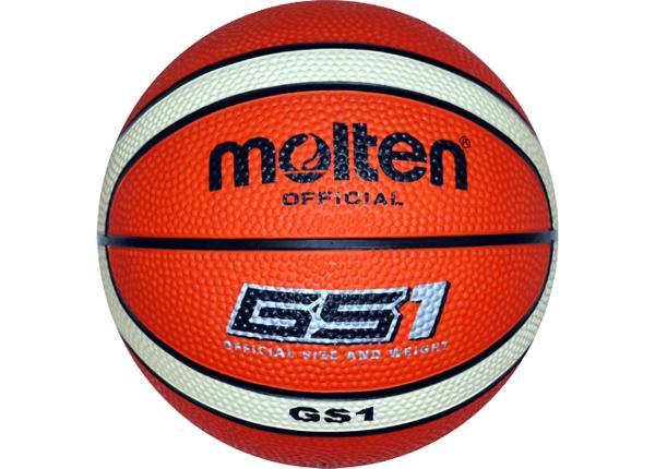 Баскетбольный мяч Gs1 резина Molten