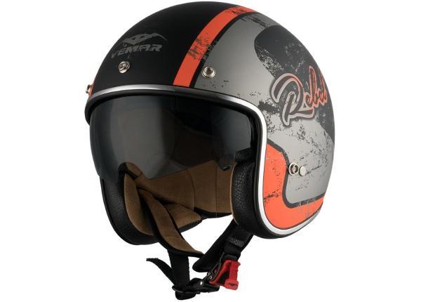 Moottoripyöräkypärä Vemar Chopper Rebel