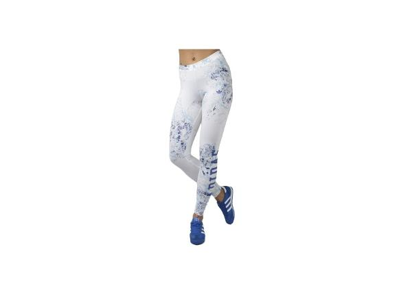Naisten treenileggingsit Adidas London Printed Leggings W S19949
